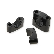 Supporto manubrio per quad Shineray 150 STE (Nero)