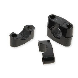 Supporto manubrio per quad BS250AS-43 (Nero)